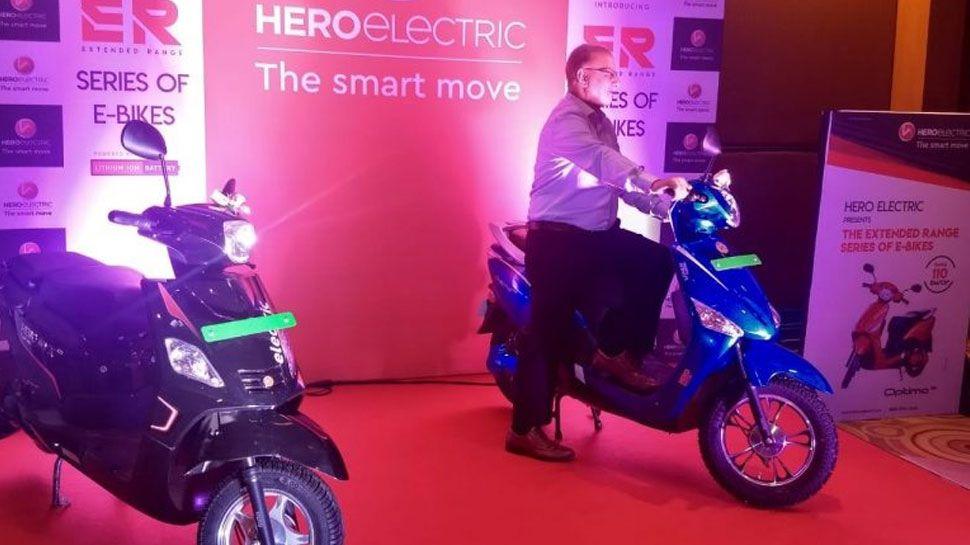 Hero ने लॉन्च किए दो सस्ते इलेक्ट्रिक स्कूटर, फुल चार्ज पर दौड़ेंगे 100 KM