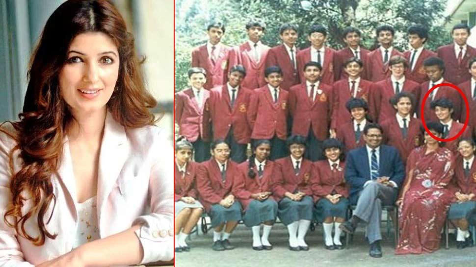 ट्विकंल खन्ना ने शेयर की अपनी स्कूल PHOTO, पहचान पाना होगा मुश्किल