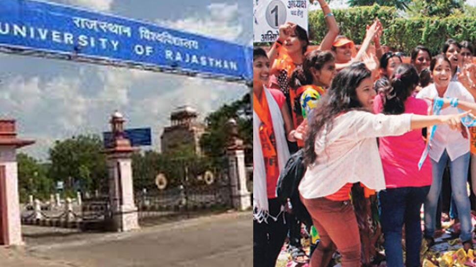 राजस्थान यूनिवर्सिटी में राजनीतिक हलचल बढ़ी, छात्र नेताओं ने प्रचार में झोंकी ताकत