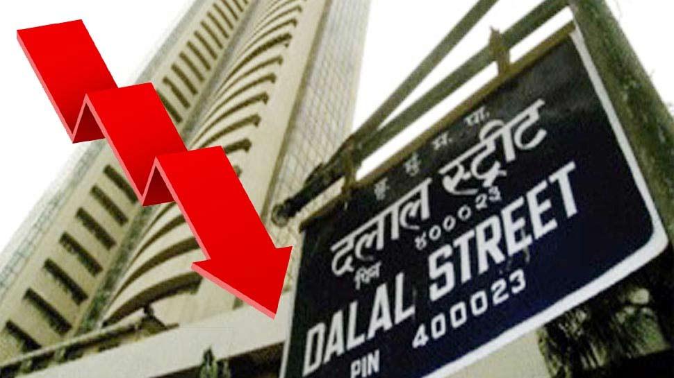 लगातार दूसरे दिन शेयर मार्केट में गिरावट, Sensex में 268 अंकों की भारी गिरावट