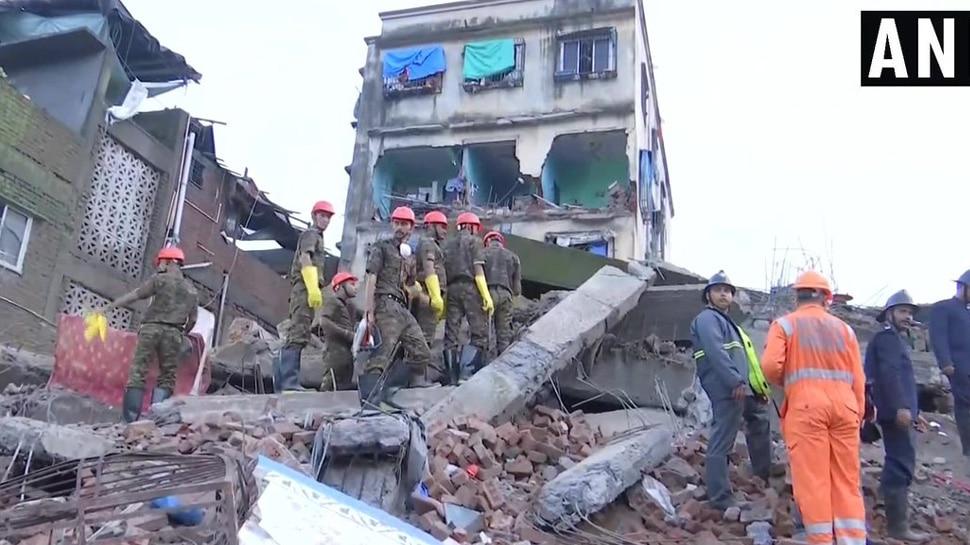 महाराष्ट्र: भिवंडी में चार मंजिला इमारत गिरी, दो लोगों की मौत; 5 घायल