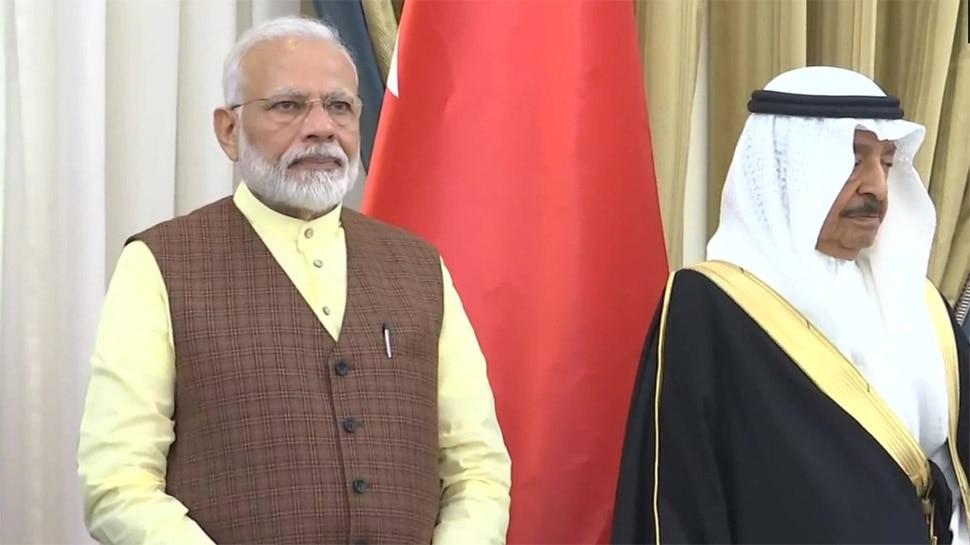 प्रधानमंत्री मोदी बहरीन में, 3 एमओयू पर हस्ताक्षर