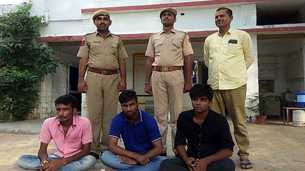 जालौर पुलिस ने अंतरराज्यीय बाइक चोरी गिरोह का किया पर्दाफाश, 3 आरोपी गिरफ्तार