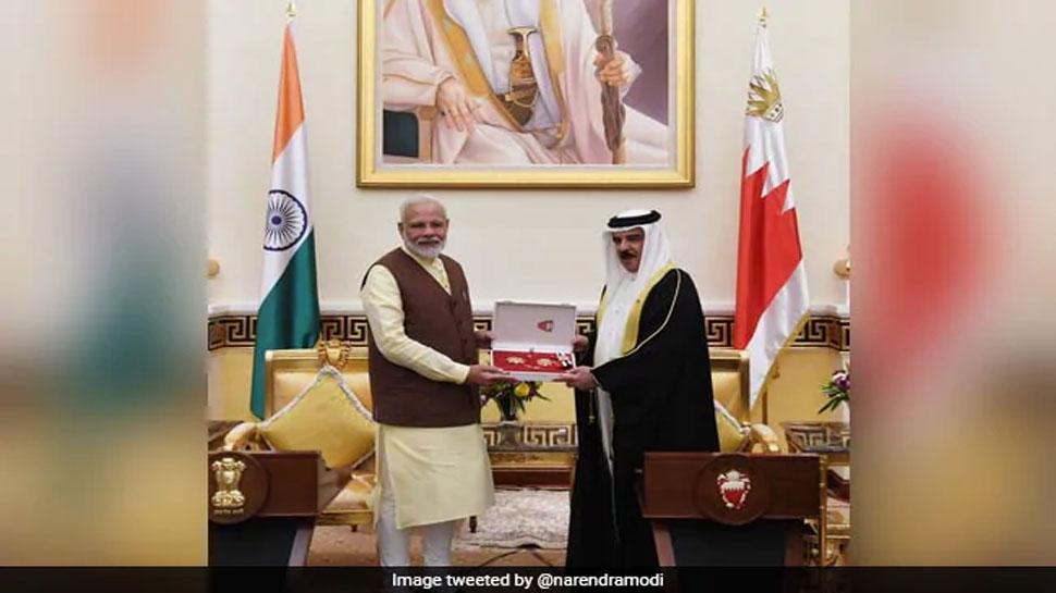 पीएम मोदी ने रचा इतिहास, पहली बार गए बहरीन,  मिला- 'द किंग हमाद ऑर्डर ऑफ द रेनेसां' पुरस्कार