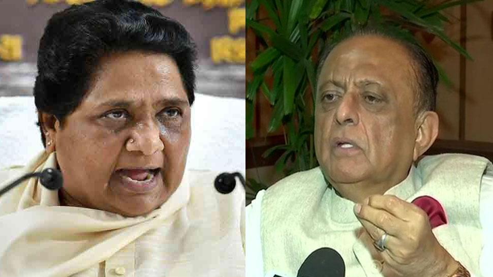 मायावती ने राहुल गांधी के कश्मीर जाने पर उठाए सवाल, एनसीपी नेता ने बहनजी पर किया कटाक्ष