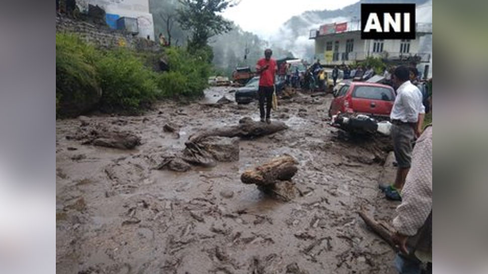 Vehicles were also washed away due to floods