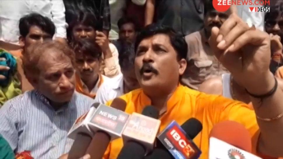 VIDEO: गुना के बीजेपी सांसद ने महिला कलेक्टर को लेकर दिया विवादित बयान