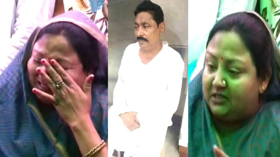 प्रेस कॉन्फ्रेंस में रो पड़ीं अनंत सिंह की पत्नी, कहा- 'सरकार करा सकती है मेरे पति की हत्या'