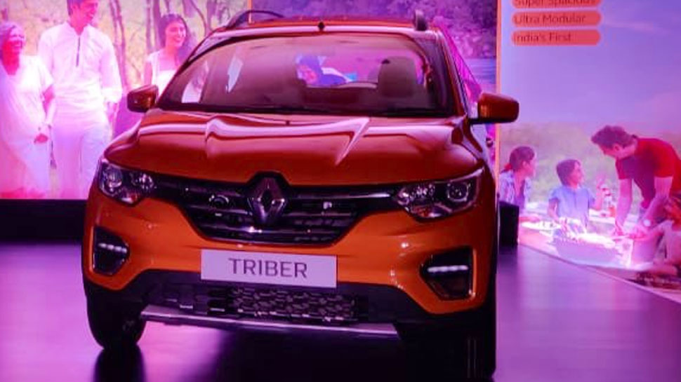renault india launched mpv triber