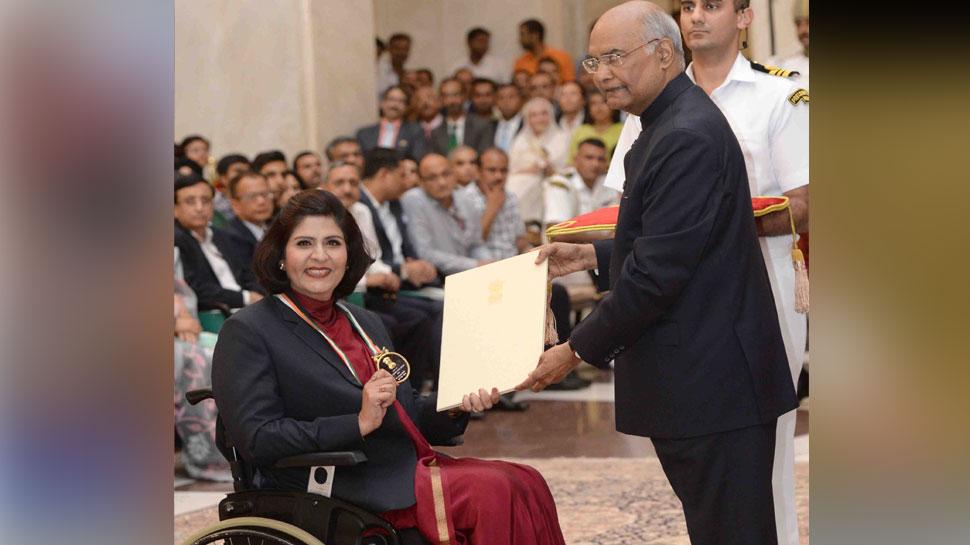 पैरा-एथलीट दीपा मलिक को खेल रत्न पुरस्कार, रेसलर पूजा ढांडा को अर्जुन अवॉर्ड