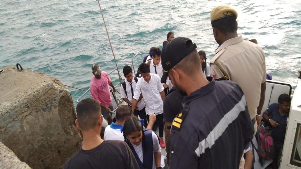 अंडमान-निकोबार: इंडियन कोस्ट गार्ड ने बचाई 50 जानें