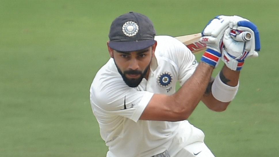 IND vs WI: विराट-मयंक की फिफ्टी से संभली भारतीय पारी, होल्डर की शानदार गेंदबाजी