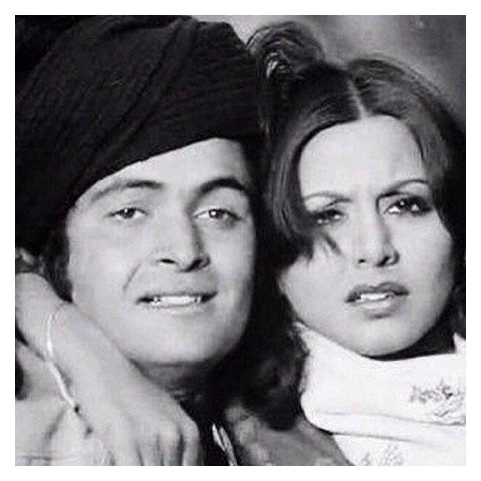 Rishi Kapoor's wedding pic