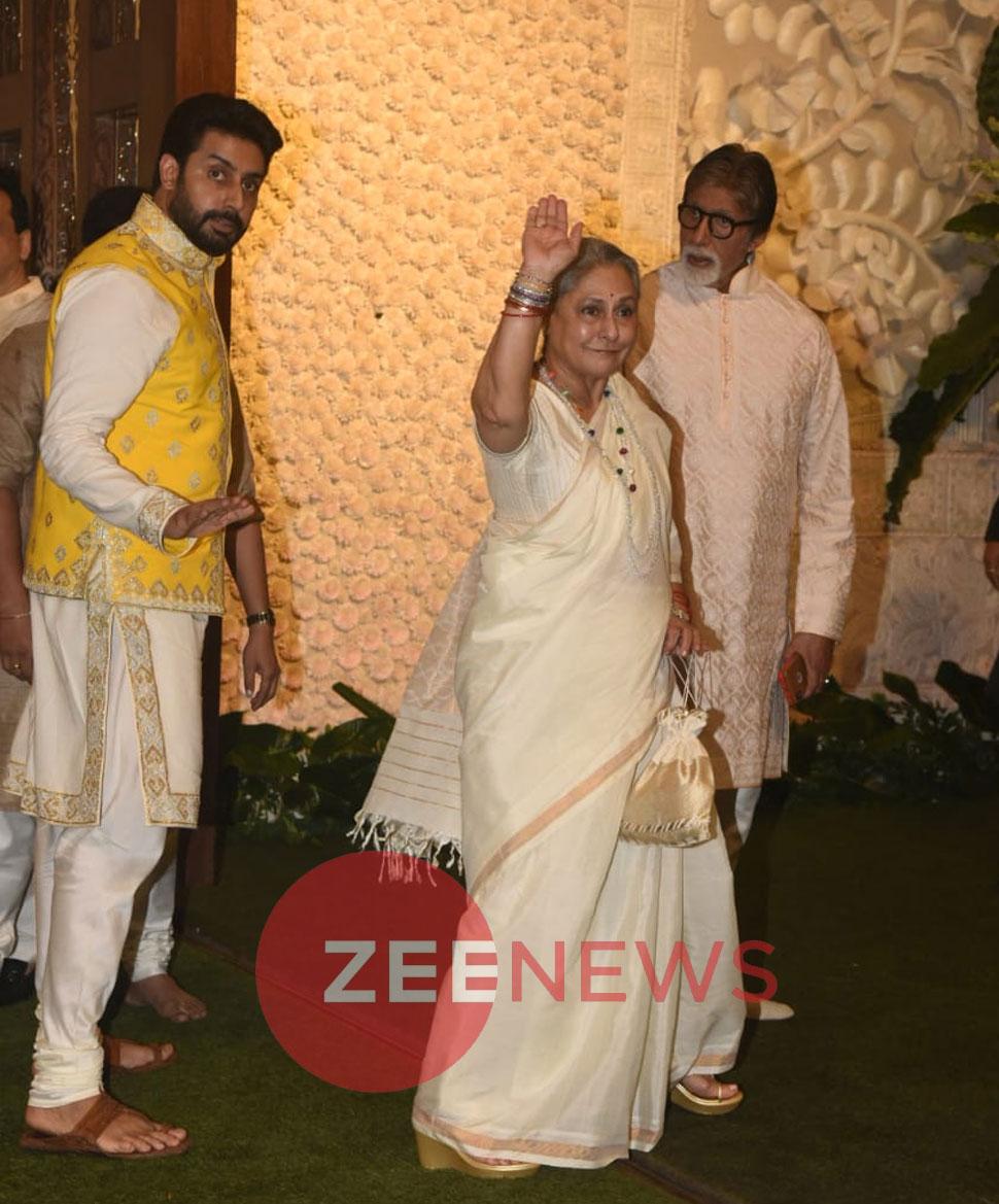 Alia Bhatt, Ranbir Kapoor, Bachchans spotted at Ganesh Chaturthi Ambani Party