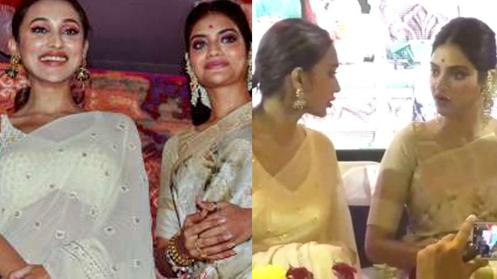 TMC MPs Nusrat Jahan & Mimi Chakraborty