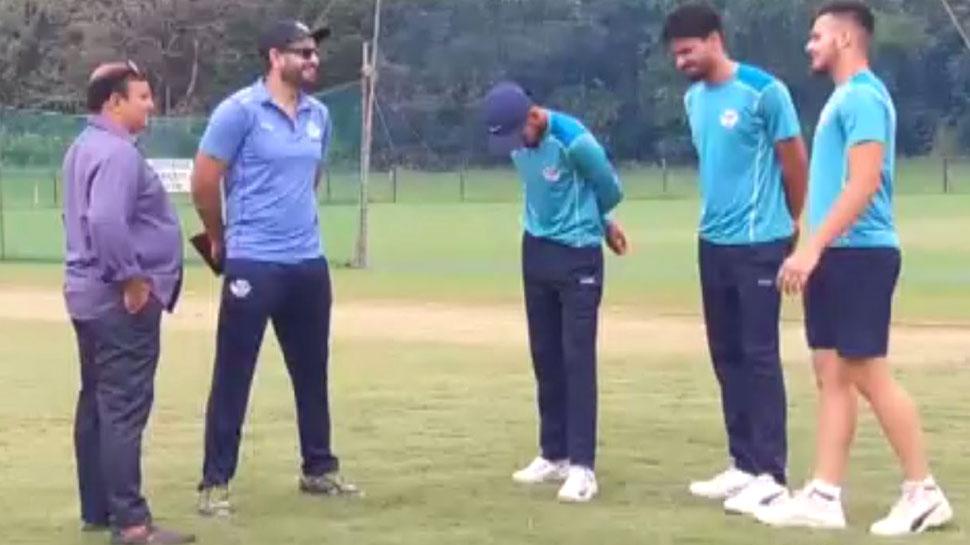 जम्मू-कश्मीर के क्रिकेट खिलाड़ियों को भेजा गया गुजरात, इरफान पठान दे रहे ट्रेनिंग