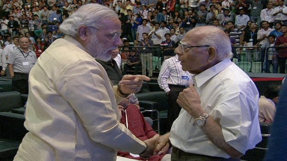 राम जेठमलानी के निधन पर PM मोदी ने जताया शोक, बताया 'असाधारण वकील'