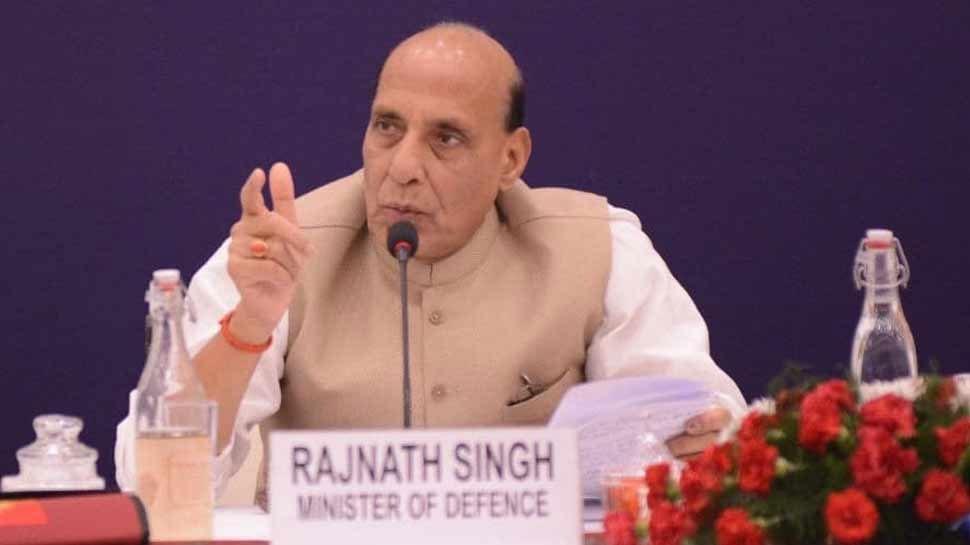 रक्षा मंत्री राजनाथ सिंह बोले, 'बिना थके लगातार काम कर रही है मोदी सरकार'