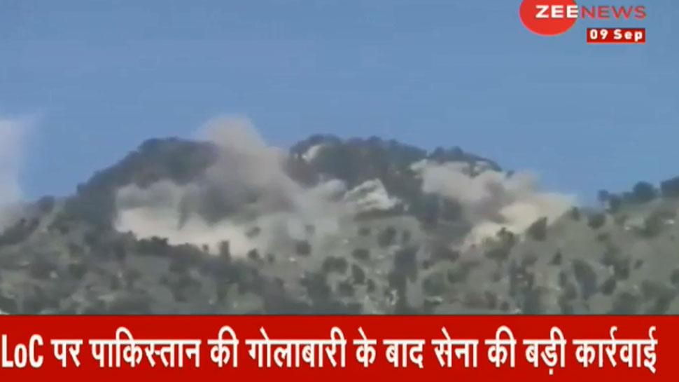 LoC पर भारतीय सेना की बड़ी कार्रवाई, लीपा वैली में आतंकियों के लॉन्चिंग पैड को उड़ाया