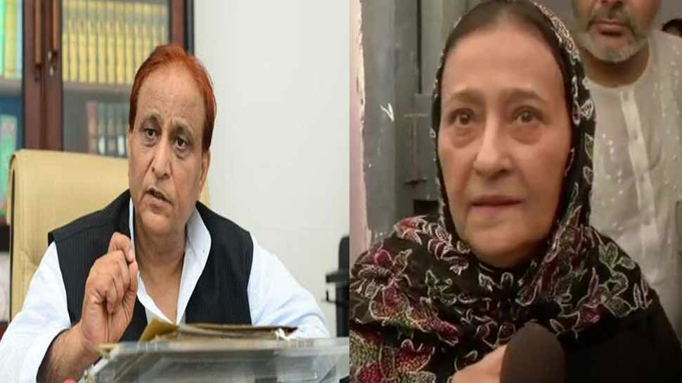 रामपुर: पुलिस आजम खान के घर पर ने चिपकाए 4 और नोटिस, पत्नी और दोनों बेटों का नाम