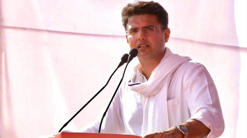अजमेर: सचिन पायलट ने बीजेपी पर साधा निशाना, कहा- 'आर्थिक मोर्चे पर सरकार नाकाम'