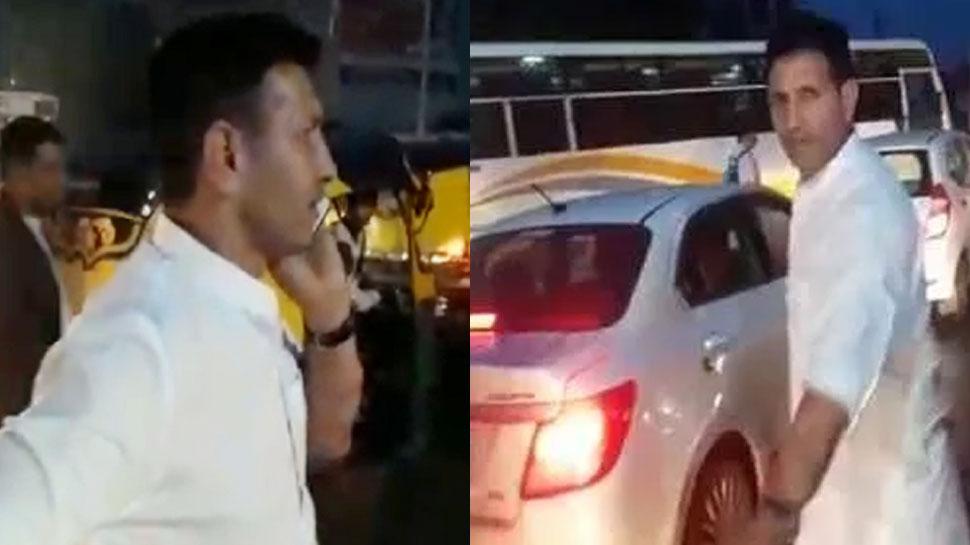 Video: जाम में फंसे मध्य प्रदेश के स्पोर्ट्स मंत्री, गाड़ी से निकलकर खुद कंट्रोल किया ट्रैफिक