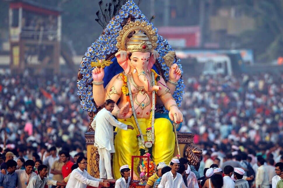 ghana celebrates ganesh pooja