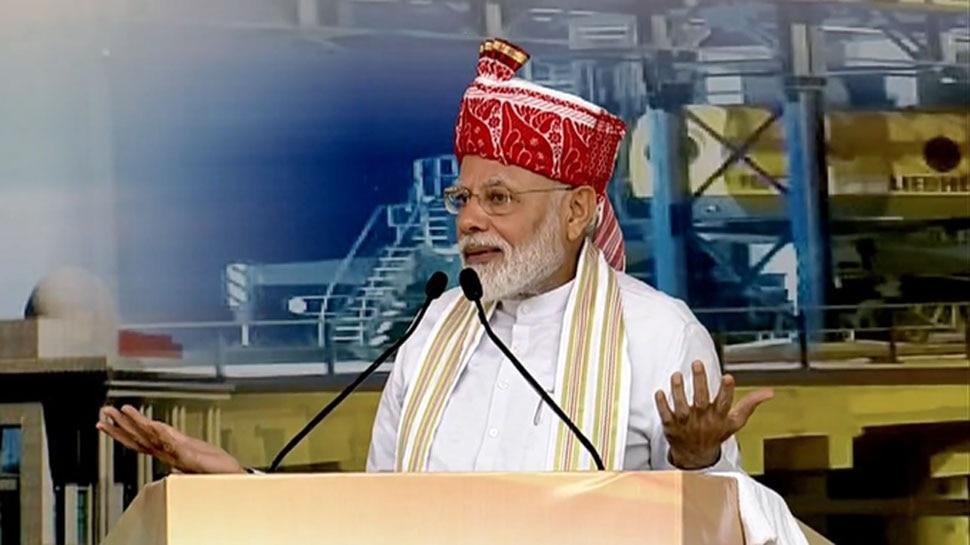 रांची में बोले PM मोदी- 'जनता को लूटने वाले कुछ लोग अब सही जगह पर पहुंच चुके हैं'