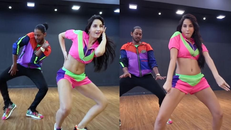 अपने ही गाने 'Pepeta' पर नोरा फतेही ने किया Fantastic Dance, वायरल हो रहा है Video