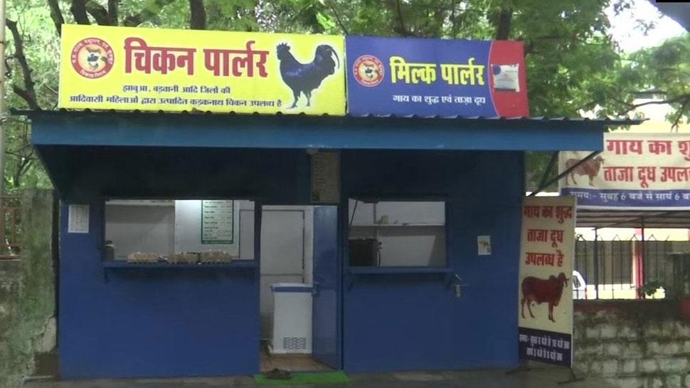 मध्य प्रदेश सरकार ने शुरू की एक ही आउटलेट पर चिकन और दूध बेचने की योजना, BJP ने जताया विरोध