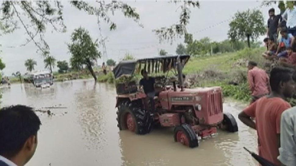 बारां जिले में मूसलाधार बारिश से मचा हाहाकार, जनजीवन प्रभावित