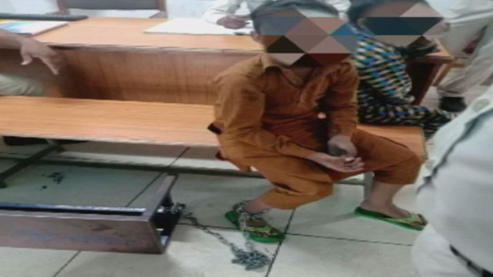 भोपाल: मदरसे में बच्चों को जंजीर से बांधकर दे रहे थे तालीम, संचालक गिरफ्तार