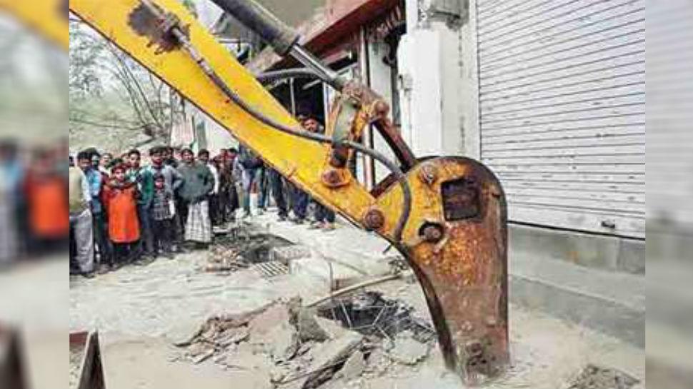 पटना: अतिक्रमण के खिलाफ अभियान का दूसरा दौर शुरू, हटाया गया सालों पुराना अतिक्रमण