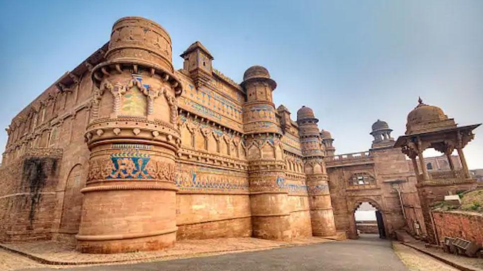 ग्वालियर: देश का सबसे बड़ा किला 'मान सिंह पैलेस' खुद में समेटे है सदियों का इतिहास