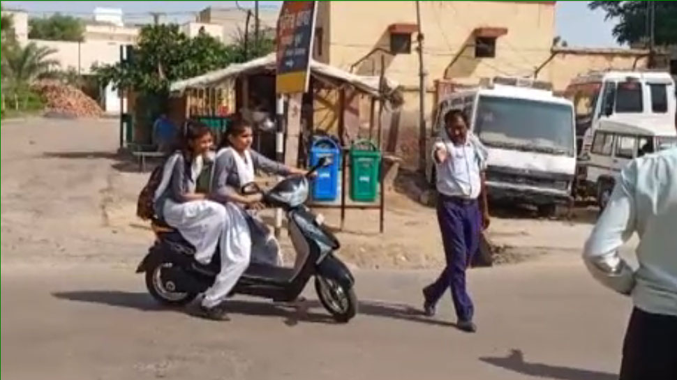 नए ट्रैफिक नियमों का चूरू में भी दिखा असर, पुलिस की सख्त कार्रवाई से दिखा लोगों में बदलाव