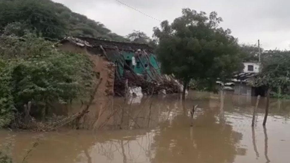 बूंदी: चंबल नदी के जल स्तर के कारण डूबने की कगार पर पहुंचे 11 से अधिक गांव