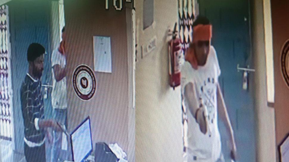 उदयपुर में बदमाशों ने बैंक से की दिन दहाड़े बंदूक की नोक पर लाखों की लूट