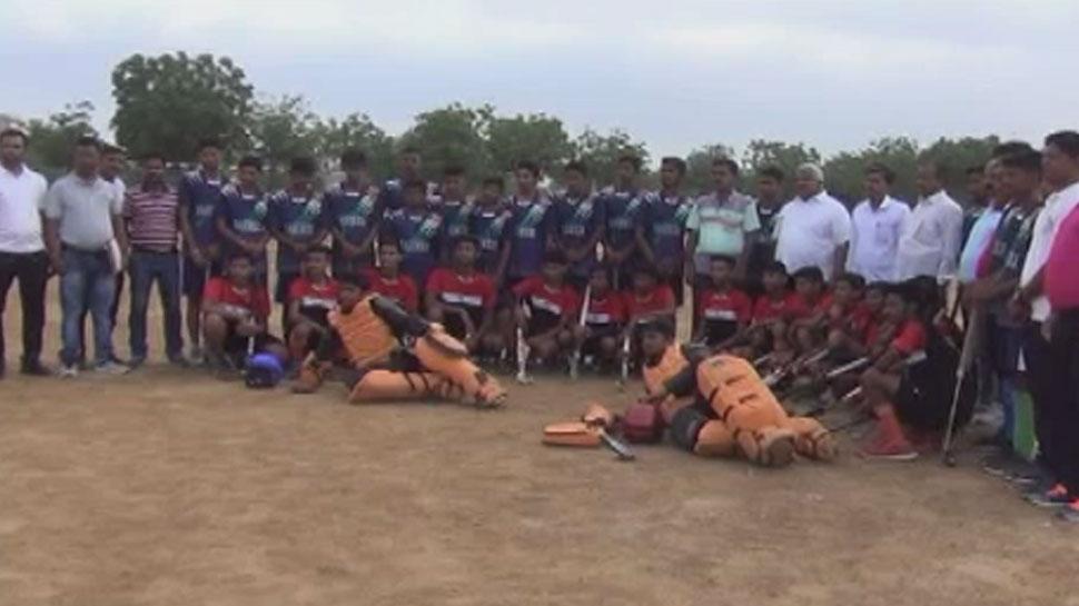 बाड़मेर के लोगों पर छाया हॉकी का खुमार, आयोजित की गई राज्य स्तरीय प्रतियोगिता