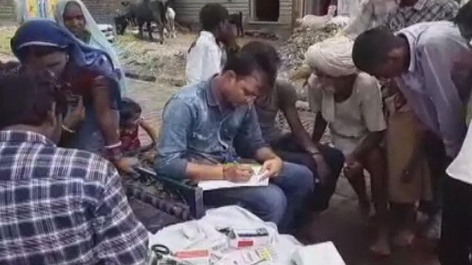 झालावाड़: जलमग्न इलाकों में फैली मौसमी बिमारियों की दहशत, पहुंची डॉक्टरों की टीम