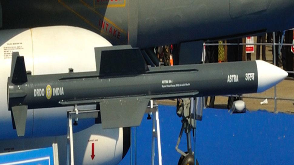भारत ने तीसरी बार किया अस्त्र मिसाइल का सफल परीक्षण, 90 Km दूर टार्गेट किया ध्वस्त