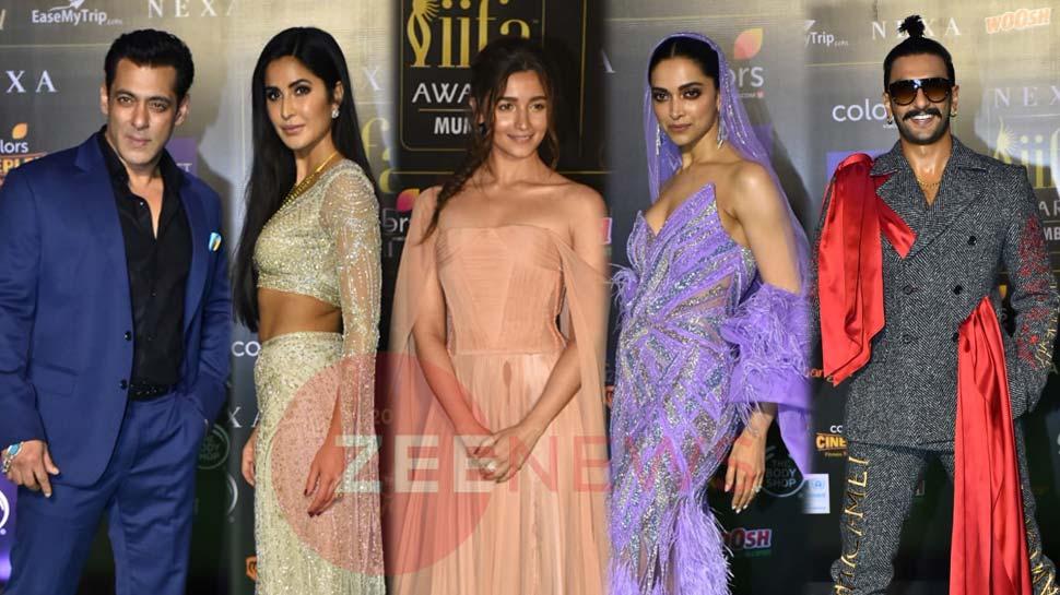 IIFA 2019: सलमान खान, आलिया भट्ट, दीपिका पादुकोण, यूं नजर आया Stars का LOOK