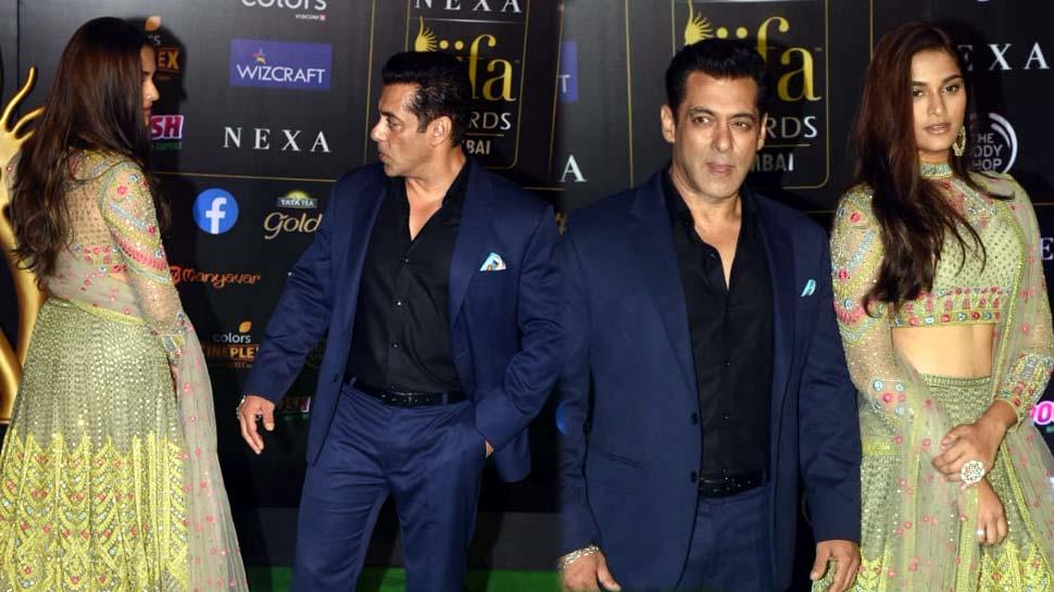 सलमान खान ने IIFA Awards में की 'मिस्ट्री गर्ल' के साथ Entry, जानिए कौन है ये बाला...