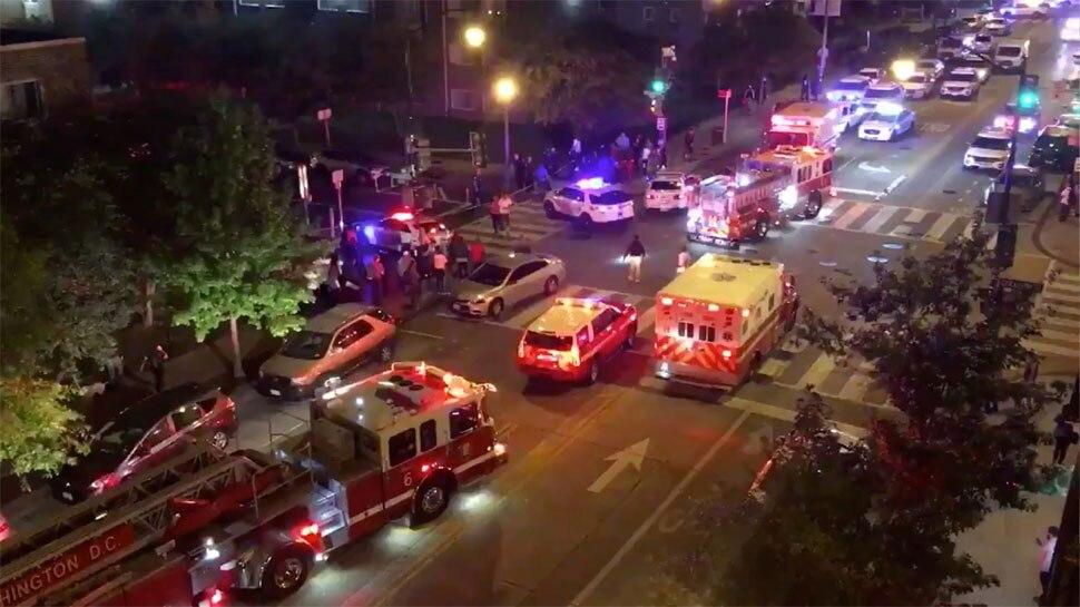 अमेरिका: वॉशिंगटन डीसी की सड़कों पर फायरिंग,1 की मौत,5 घायल