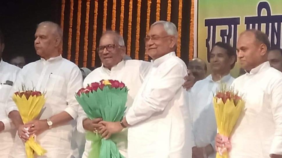 वशिष्ठ नारायण सिंह लगातार तीसरी बार चुने गए JDU के प्रदेश अध्यक्ष, CM नीतीश ने दी बधाई