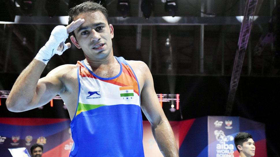 वर्ल्ड चैंपियनशिप के फाइनल में पहुंचने वाले पहले भारतीय बॉक्सर बने अमित पंघाल