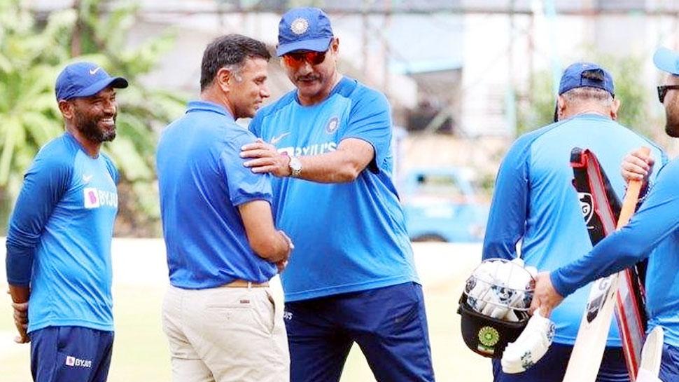 INDvsSA: अपने घरेलू मैदान पर टीम इंडिया से मिले राहुल द्रविड़, BCCI ने कहा...