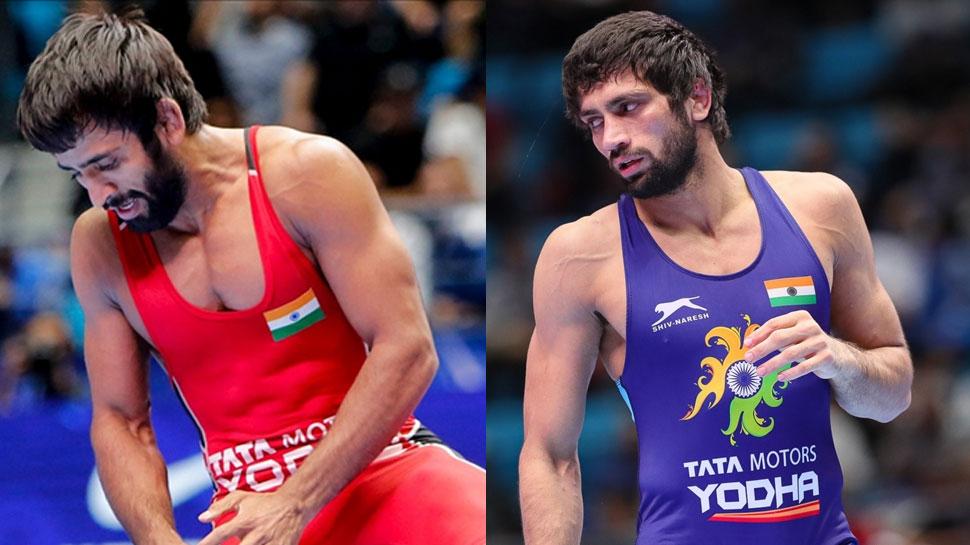 विश्व कुश्ती चैम्पियनशिप: ओलंपिक कोटा हासिल करने के बाद बजरंग, रवि ने जीता ब्रॉन्ज