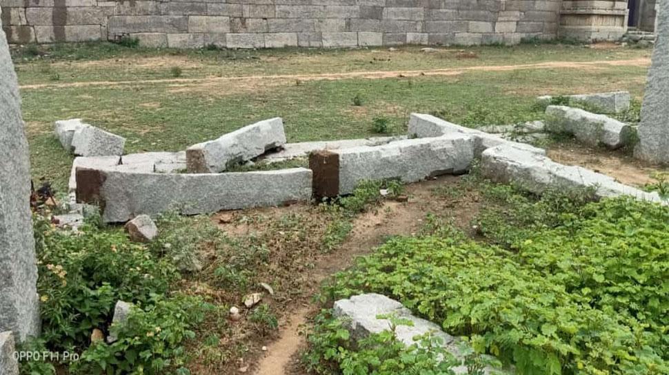 कर्नाटक: विश्व धरोहर स्थल 'हम्पी' को नुकसान पहुंचाने के आरोप में एक गिरफ्तार