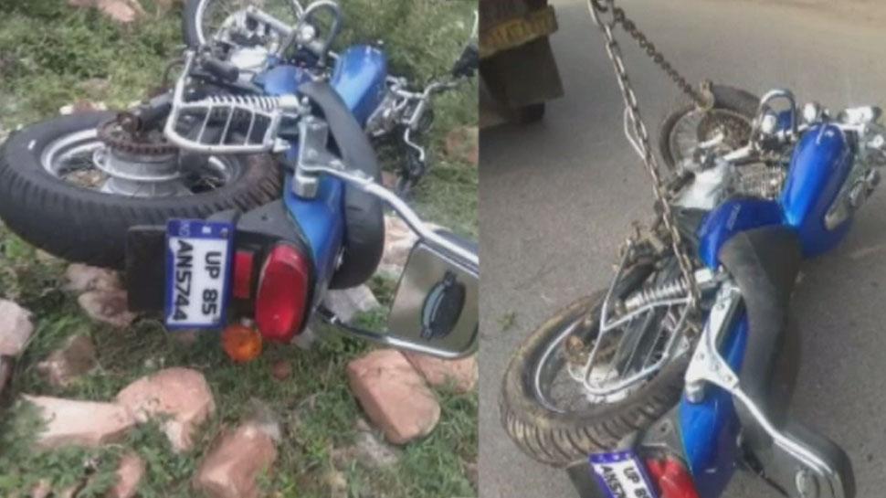 जयपुर: नाहरगढ़ की पहाड़ियों पर हुआ भीषण हादसा, युवक की हालत गंभीर