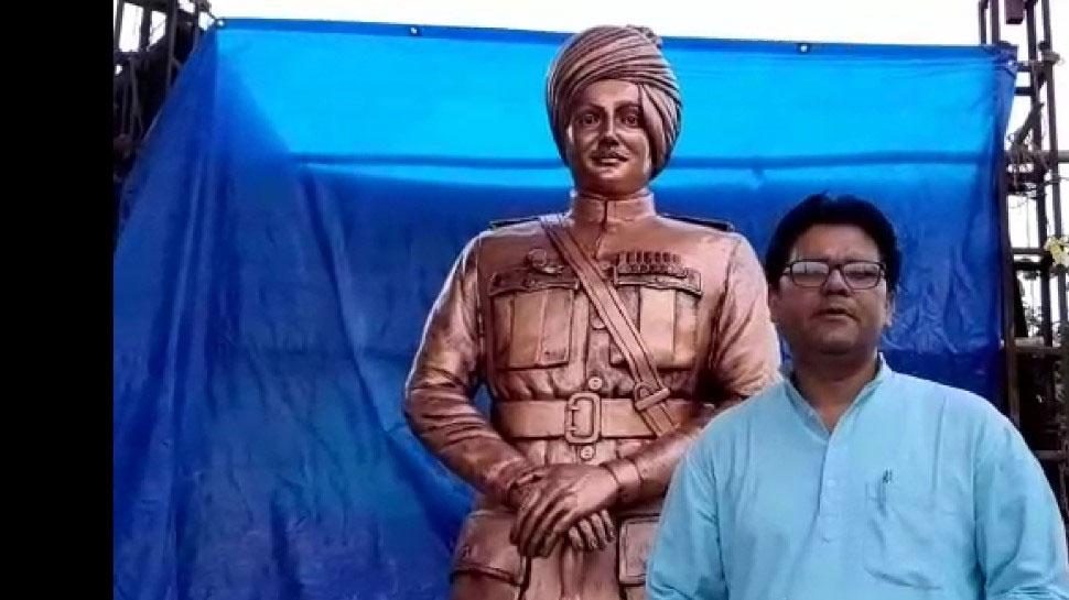 जोधपुर: हाइफा हीरो मेजर दलपत सिंह की प्रतिमा पाली में की जाएगी स्थापित
